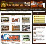 Làm website tủ bếp