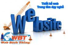 Thiết kế website trung tâm dạy nghề