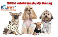 Thiết kế website bán phụ kiện thú cưng - trọn gói uy tín