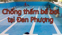 Chống thấm bể bơi tại Đan Phượng