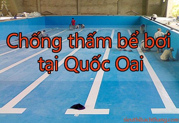 Chống thấm bể bơi tại Quốc Oai