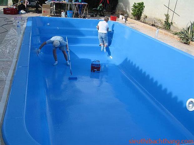 Quy trình chống thấm bể bơi
