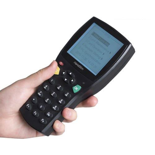 Thiết bị cầm tay cài đặt thông tin cho thẻ khóa ASH100