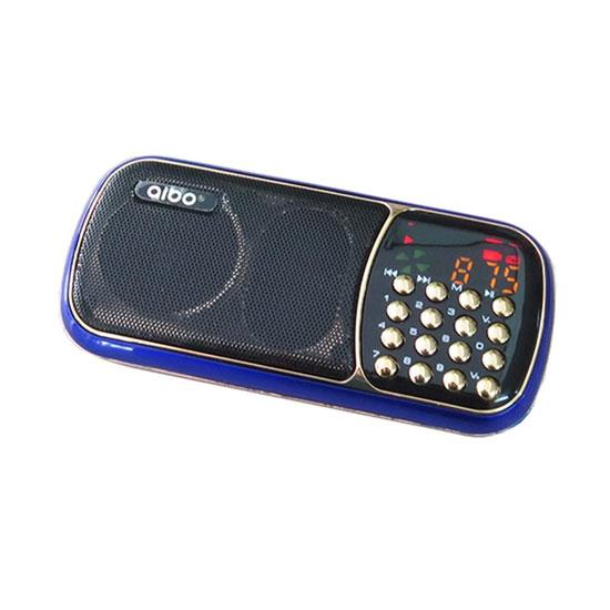 Loa nghe nhạc USB Aibo UN-35 (Xanh đen)