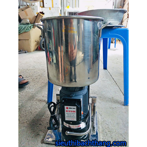 Máy xay đa năng 0.8 - 1.2kg 1.1KW nồi cao 24cm khung inox