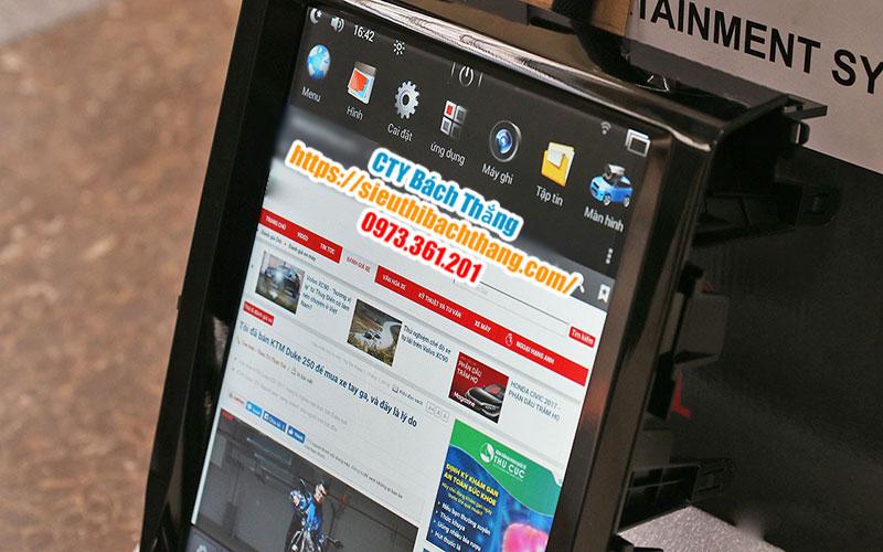 Các Loại Đầu Màn Hình DVD Tesla Android 4G Cho Ô Tô