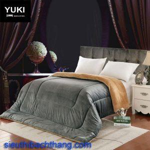 Chăn lông cừu nhật yuki ghi sa mạc