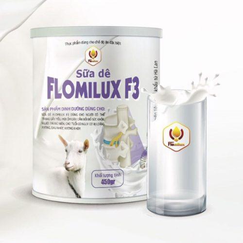 Sữa dê flomilux f3